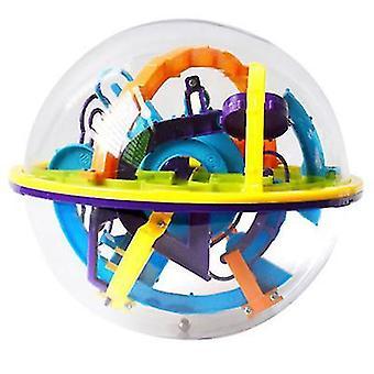 158 רמות אתגר מסלול מבוך כדור משחק 3D מבוך כדור ילדים צעצועים חינוכיים מבוך קסם