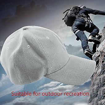 Nastavitelné čisté barvy prázdné zakřivené obyčejné baseballové čepice Dobrý visor klobouk