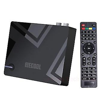Multifunction streaming home media players mecool k5 android tv box dvb-t2/s2 set-top box android 9.0 4k media player