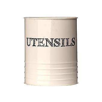 Sketch Utensil Canister - Cream