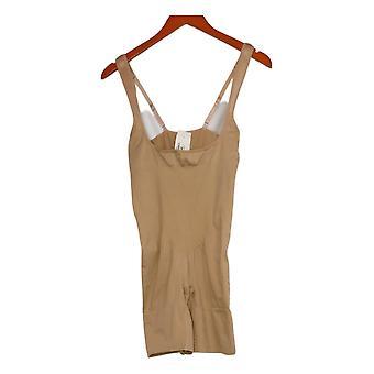 Rhonda Shear Women's Shaper Reg Bodysuit Beige 656499
