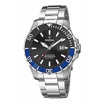 Festina F20531-6 Men's Automatic Steel Bracelet Wristwatch
