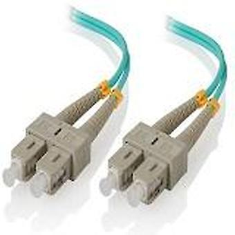 Alogic 15M Sc Sc 10G Multi Mode Duplex Lszh Fibre Cable Om3