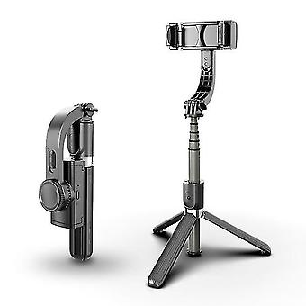 Ręczny gimbal Bluetooth do aparatu inteligentnego telefonu jednoosiowy z pilotem zdalnego sterowania nagrywanie wideo