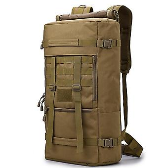 50 liter utendørs taktisk molle militær ryggsekk ryggsekk reise camping sportsbag