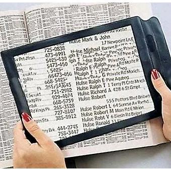 3x Aide à la lecture de la loupe de lecture ultra-mince