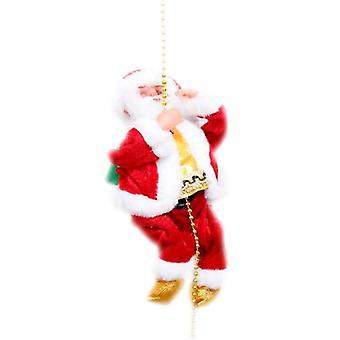 Climbing Rope Santa Claus Christmas Electric  Decorations