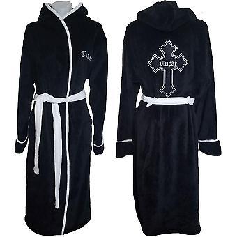 Tupac unisex bathrobe: cross