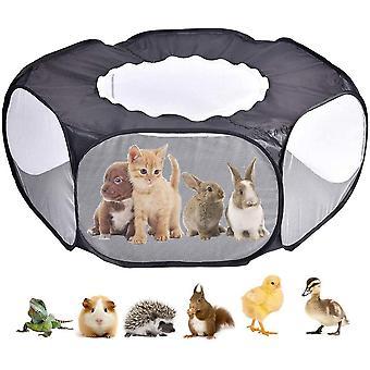 Zvierací stan Králik Morča klietkový stan s krytom domáceho maznáčika prenosný plot škrečok vonkajší vnútorný plot