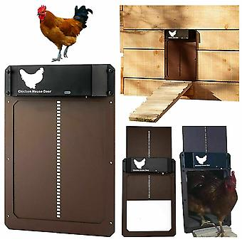 חיישן אור אוטומטי של דלת לול תרנגולת חיישן אוטומטי לדלת בית עוף