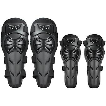 Motorcycle Knee Pads 4 Adult Adjustable Knee Pads And Elbow Pads