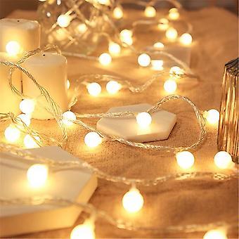 Solar Fairy Led String Light Garden Wedding Yard Christmas Decor Lamp