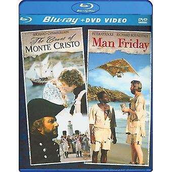 Count of Monte Cristo - Man Friday Double Feature [BLU-RAY] USA import