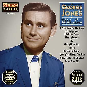 George Jones - With Love [CD] USA import