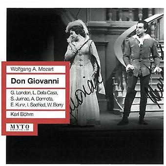 Mozart / Smetana / Tchaikovsky / Offenbach - Don Giovanni (Sung in German) [CD] USA import