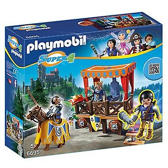 Playmobil 6695 Super 4 Royal Tribune med Alex