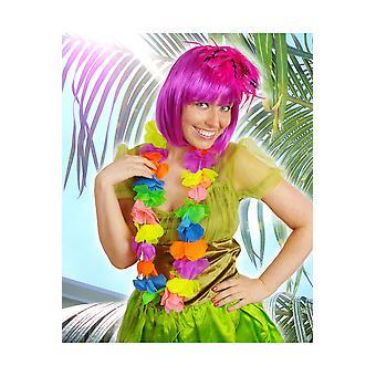 Hawai e tropical ghirlanda hawaiana multicolore