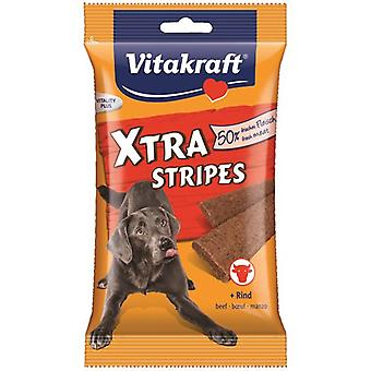 Vitakraft Cow Meat Stripes Xrta (Dogs , Treats , Chewy and Softer Treats)