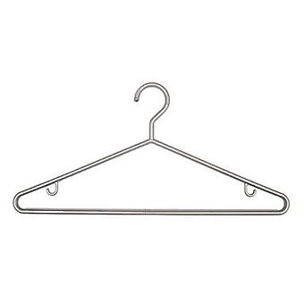 1x3 Silver Plastic Hangers 43cm made in UK for Caraselle