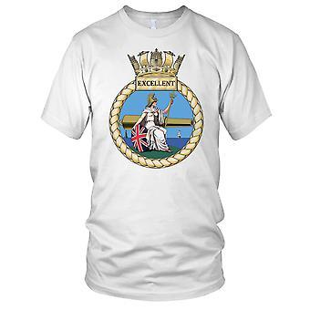 Royal Navy HMS utmerket Kids T skjorte