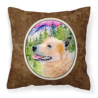 Carolines Treasures  SS8335PW1414 Australian Cattle Dog Decorative   Canvas Fabr