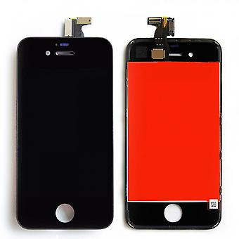 iPhone 4S skærm sort