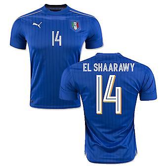 2016-2017 Italia Puma camiseta Home (El Shaarawy 14) - niños