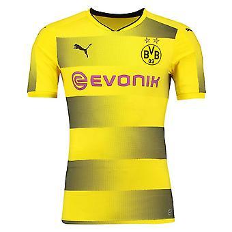 2017-2018 Borussia Dortmund Puma Authentic Home Football Shirt