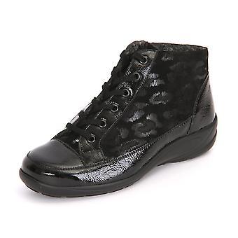 Semler Birgit Knautschlack Samt B71855523001 univerzális téli női cipő