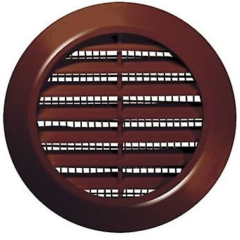 70mm Durchmesser weiß/braun Runde Tür Luft Kühlergrill Holzarbeiten Möbel Entlüftungsbohrung