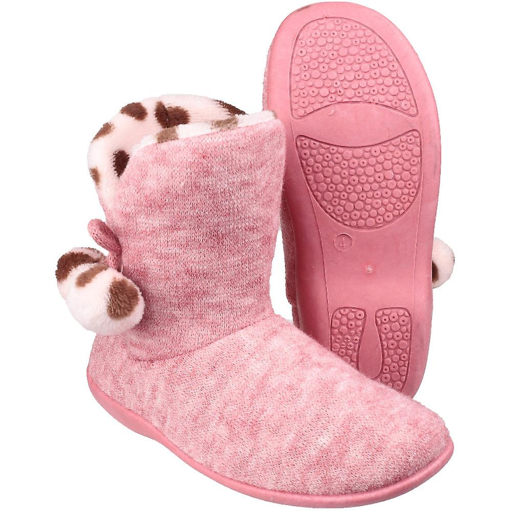 Mirak Womens/Ladies Limoges Slip On Comfortable Textile Slippers ptXGP