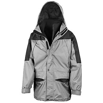 Result Mens 3 in 1 Zip Out Windproof and Waterproof Jacket