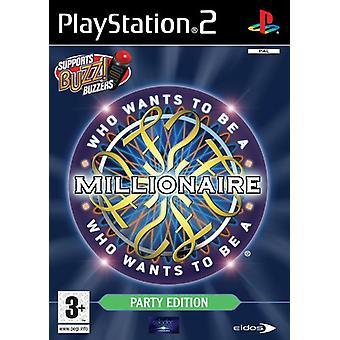 Qui veut être un Millionaire Party Edition - Solus (PS2) - Factory Sealed
