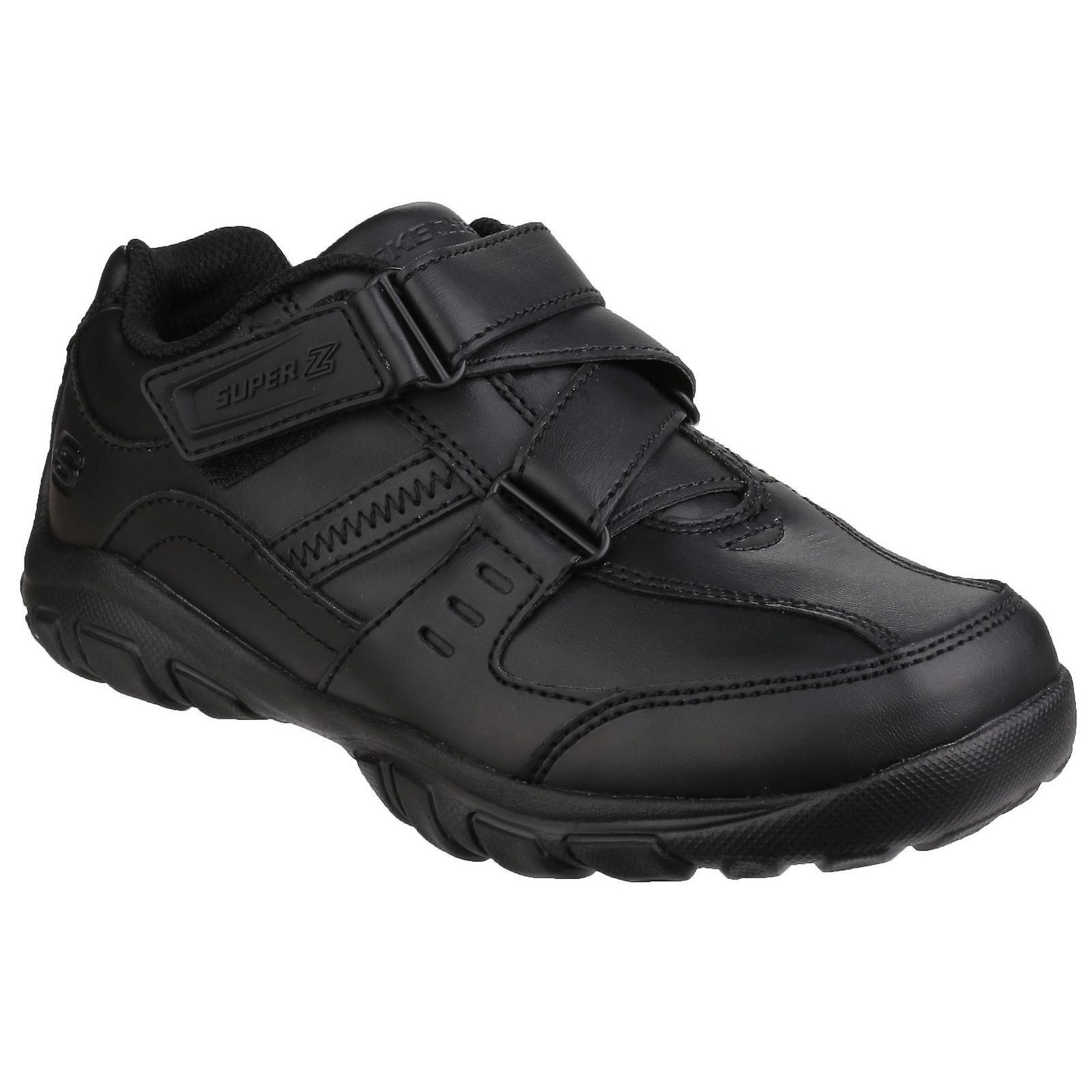 Skechers Childrens Boys Grambler Zeem Touch Fasten Trainer//Sneaker