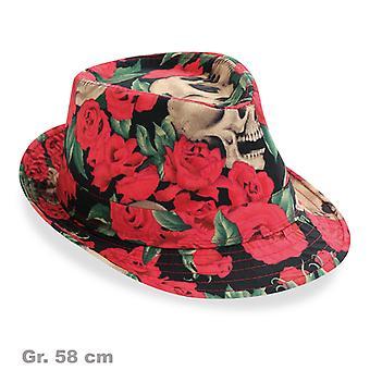 Jour M. chapeau de Trilby roses Mexique mort
