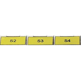 HellermannTyton 594-01102 TAG120LA4-1102-YE Cable identifier Helatag 15.20 x 6.40 mm Label colour: Yellow No. of labels: 10000