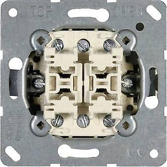 Interruptor de alavanca Jung inserir Twin LS 990, AS 500, 500 CD, projeto do LS, LS plus, FD design, A 500, A mais, uma criação, CD plus, SL 500 509 U