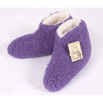 Lit chaussures laine violet 36/37