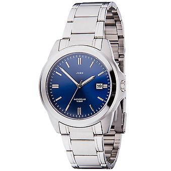 Men's Wristwatch Quartz Analog Stainless Steel Date Men's Watch