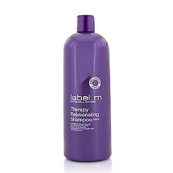 Label.m Label.m Therapy Rejuvenating Shampoo (gently Cleanse While Restoring Replenishing And Rejuvenating - 1000ml/33.8oz