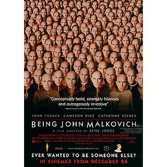 Being John Malkovich Movie Poster (11 x 17)