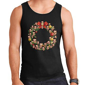 Christmas Wreath Multi Leonardo DiCaprio Men's Vest