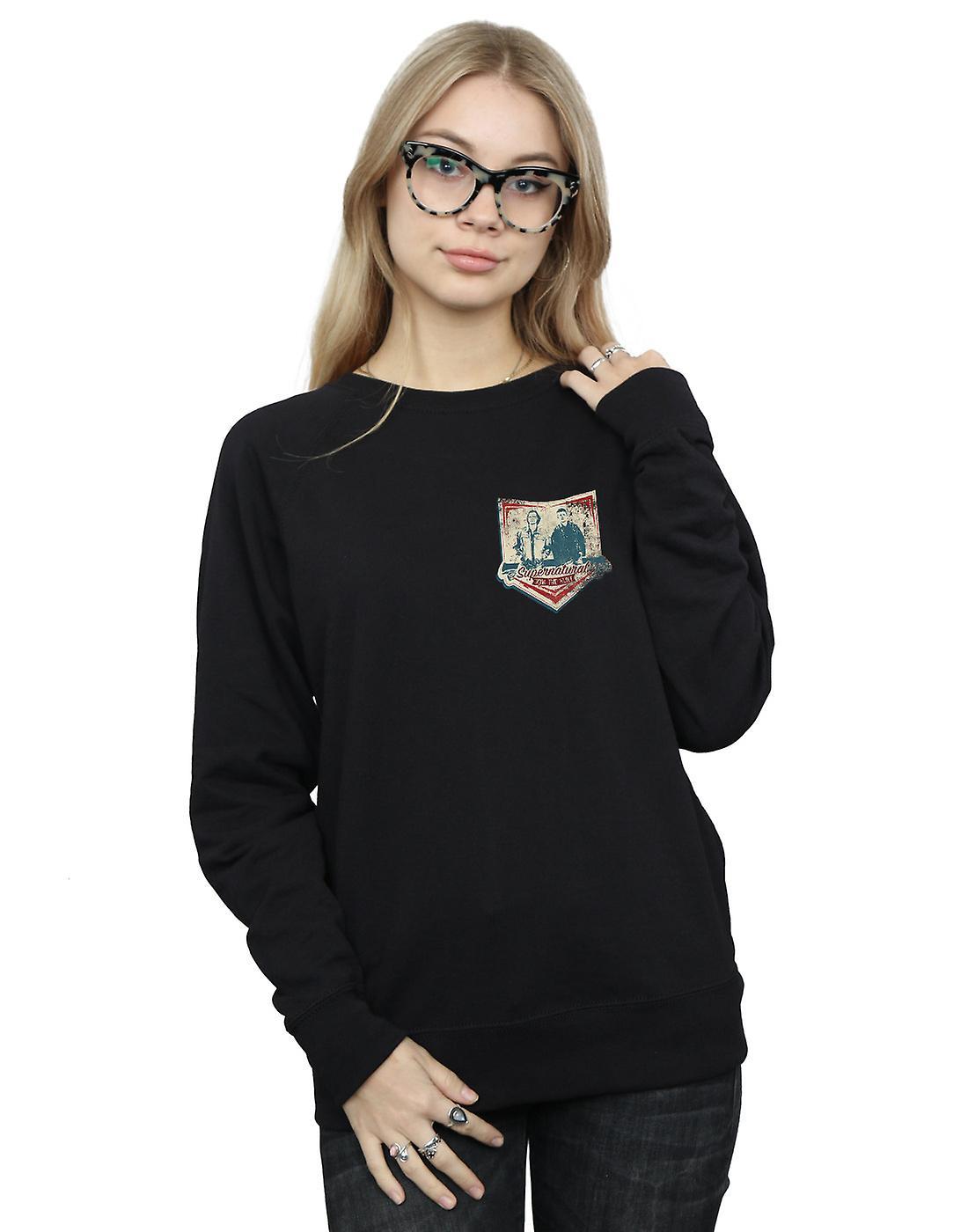 Supernatural Women's Winchester Breast Print Sweatshirt