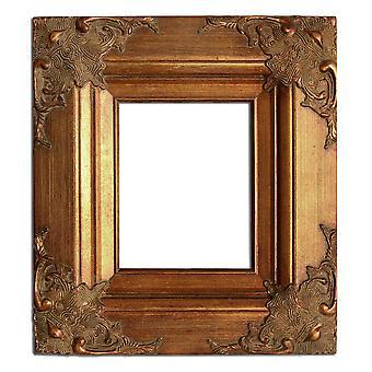 20x25 سم أو 8x10 ins، إطار الصورة الذهبية