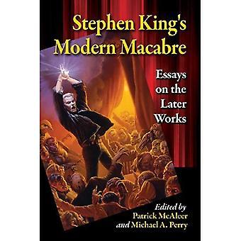 Stephen Kingin Modern makaaberi: esseitä työskentelee myöhemmin