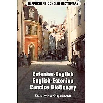 Estonian-English, English-Estonian Dictionary (Hippocrene Concise Dictionaries)
