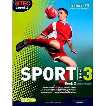 BTEC niveau 3 nationale Sport Boek 2: Boek 2