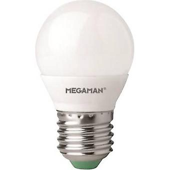 Megaman LED (monochrome) EEC A+ (A++ - E) E27 Droplet 5.5 W = 40 W Warm white (Ø x L) 45 mm x 77 mm 1 pc(s)
