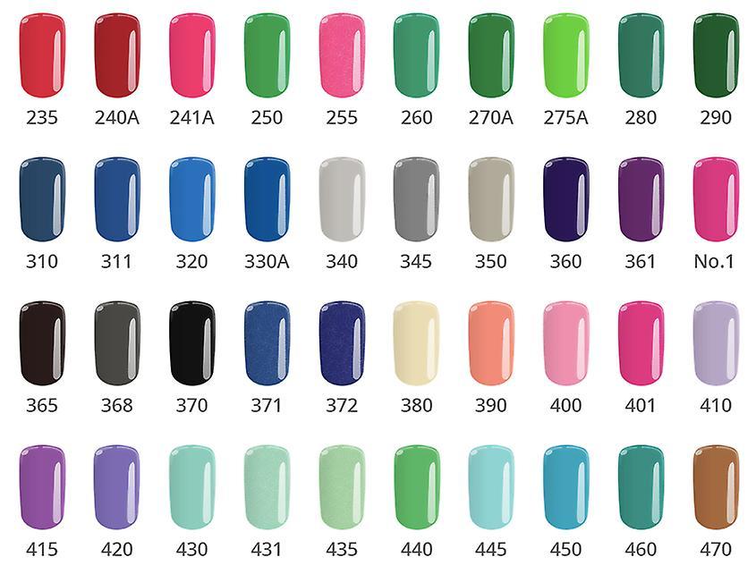 Gel polsk-Color IT-* 450 8g UV gel/LED