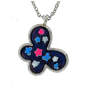 "TOC Children's Mood Butterfly Pendant Necklace 16""+2"" Extender"